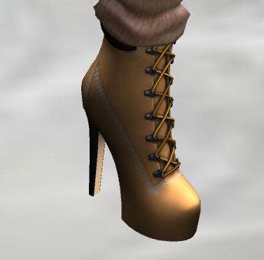 Cliche Pilar boots closeup