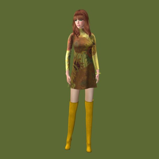Ghee Sunflower dress v1 small