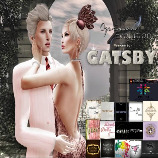 Gatsby Texture Invite